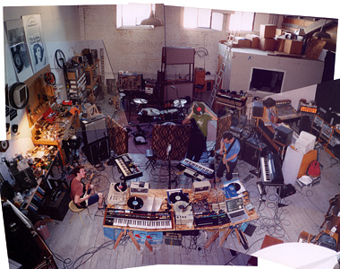 Tarentel - September 4, 2004 - Recording Ghetto Beats On The Surface Of The Sun @ The Studio That Time Forgot